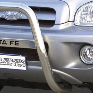 Ø 63mm High Medium Bull Bar for Hyundai Santa Fe